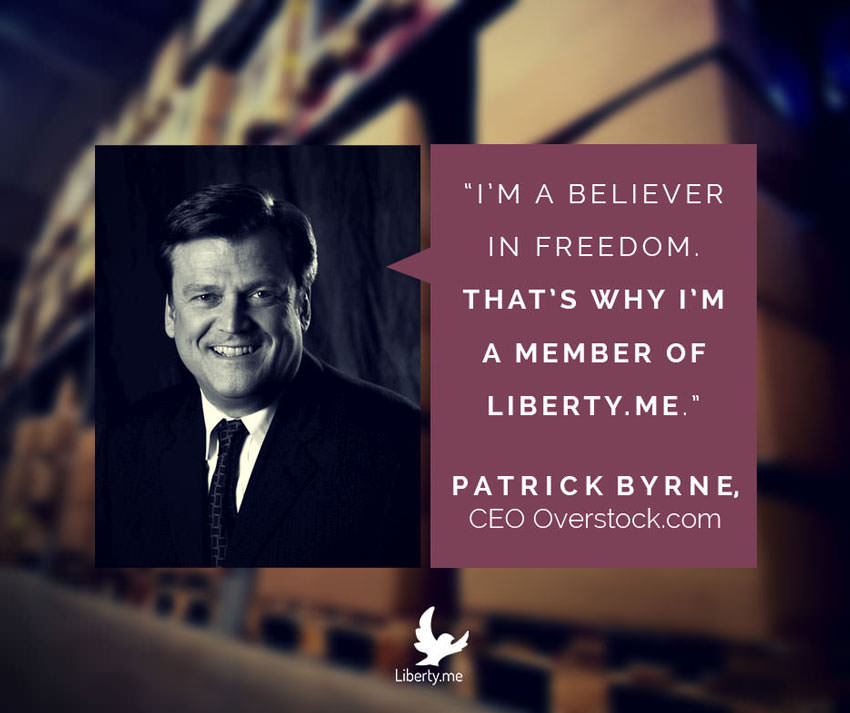 CEO of Overstock.com Endorses Liberty.me